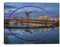Glasgow Waterfront, Canvas Print