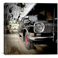 Vintage Car, Canvas Print