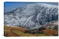 St Johns in the Vale, Cumbria, Canvas Print