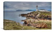 Fanad lighthouse,County Donegal, Ireland, Canvas Print