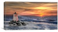 SURREAL SEASCAPE, Canvas Print