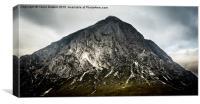 Mountain portrait, Canvas Print