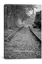 Abandoned Railway, Canvas Print