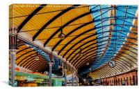 Newcastle Central Station, Canvas Print