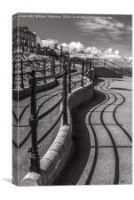 Saltburn Parallel Lines, Canvas Print