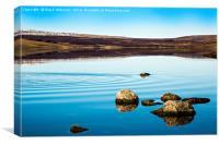Cow Green Reservoir, Canvas Print
