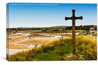 Alnmouth Harbour, Canvas Print