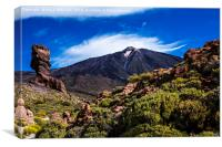 Mount Teide - Tenerife, Canvas Print