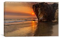 Pismo Beach Sunset, Canvas Print