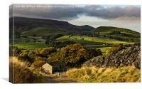 Hebden to Thorpe Fells, Canvas Print