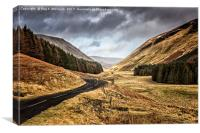 Moffat To St. Mary's Loch, Canvas Print
