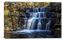 Bowlees Waterfall, Canvas Print
