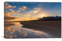 Sunrise Costa Calma, Canvas Print