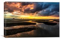 Fuerteventura Sunrise, Canvas Print