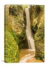 Dyserth Falls, Canvas Print