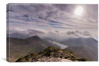 Summit View, Canvas Print