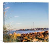 Beach view, Canvas Print