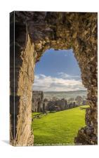 Castle View, Canvas Print