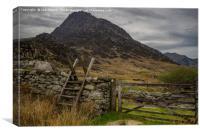 Gateways to adventure, Canvas Print