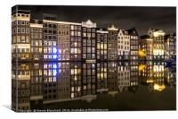 Amsterdam boat station , Canvas Print