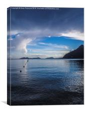 After the storm at Cala de Formentor., Canvas Print