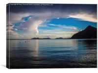 After the storm at Cala de Formentor Majorca., Canvas Print
