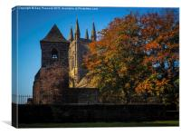 Autumn at St Mary's Mirfield, Canvas Print