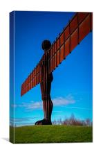 The Angel of the North the AKA The Gateshead Flash, Canvas Print