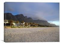 Twelve Apostle Campsbay Cape Town, Canvas Print