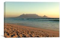 Sunset with Table Mountain