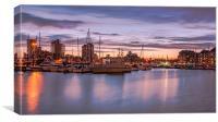 Ipswich Waterfront at Night