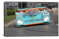 1988 porsche 962 Kremer CK6 - Scotland's Ignition , Canvas Print