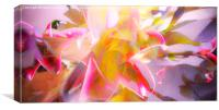 Flower Abstract, Canvas Print