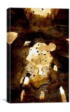 Creepy Ruins, Canvas Print