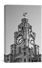Liverpool Liver Building, Canvas Print
