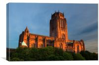 LIVERPOOL ANGLICAN CATHEDRAL IN GARDENS