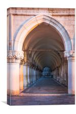 VENICE COLONNADE, Canvas Print