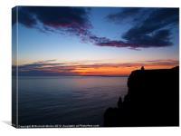 Aran Sunset, Canvas Print