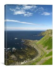 Antrim Coast, Canvas Print