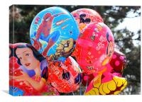 Baloons, Canvas Print