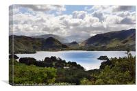 Derwentwater and the Borrowdale Valley, Canvas Print