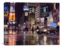 Tmes Square New York, Canvas Print