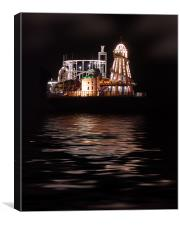 Brighton Pier Funfair, Canvas Print