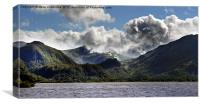The Jaws of Borrowdale, Canvas Print