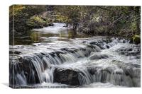 Caldbeck River, Canvas Print