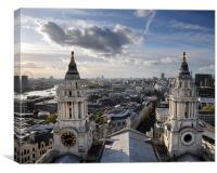 London from St Paul's Cathedral, Canvas Print