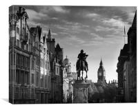 whitehall, london, Canvas Print