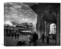 Covent Garden London, Canvas Print