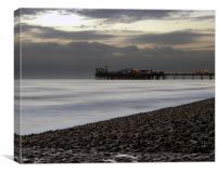 Brighton Pier Dusk, Canvas Print