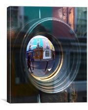 Portobello Road Mirror, Canvas Print